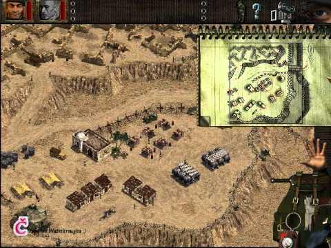 Commandos: BEL walkthrough - Pyrotechnics
