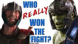 Thor VS Hulk - Who REALLY Won the Fight?