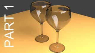 Blender Tutorial For Beginners_ Wine Glasses - 1 of 2