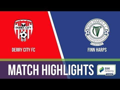 GW18: Derry City 4-0 Finn Harps