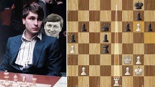 Karpov is Helpless against Ivanchuk's Weird Plan - Linares (1991)