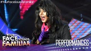 Your Face Sounds Familiar: Sam Concepcion as Janet Jackson -