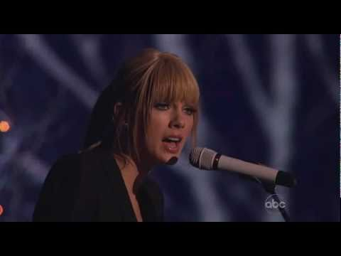 Taylor Swift Back To December American Music Awards 2010
