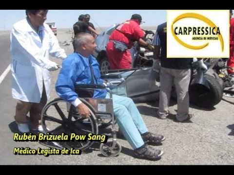 El vía crucis de un médico legista en silla de ruedas en Ica
