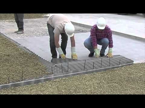Groundgrid videolike for Dupont ground grid stabilisateur de graviers