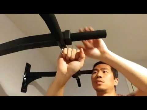 Ultimate Body Press Reversible Pull Up Bar Installation and Review