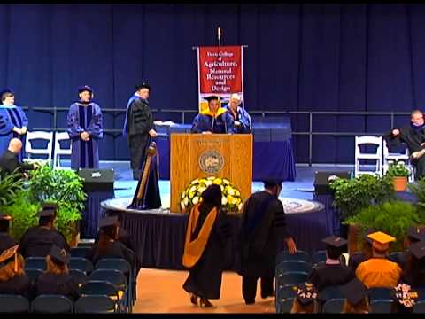 Davis College of Agriculture, Natural Resources and Design, May Commencement, 2014: WVU