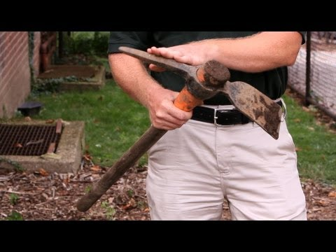How to Loosen Soil with a Mattock | Lawn & Garden Care