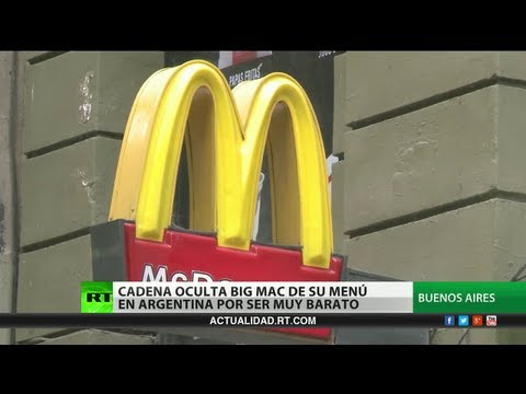 Sin anuncios del Big Mac en Argentina: un ataque a su economa?