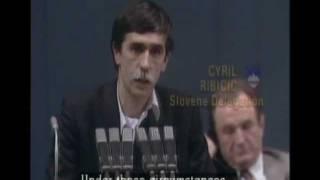 Slovenska delegacija zapusti kongres KPJ (januar 1990)