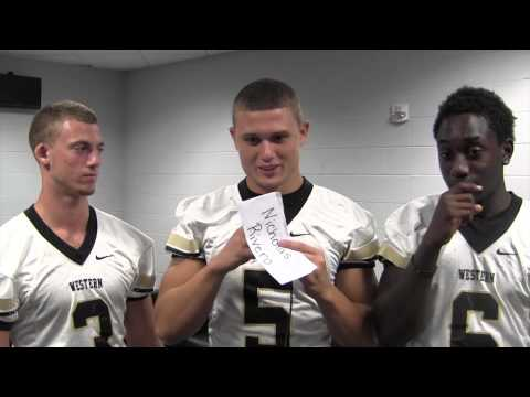 Western football player interview - Media Day