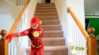Magic Show The Flash Disappear Jason V kids TV kids movies kids 2018 kindergarten