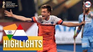 India v Netherlands | Odisha Men's Hockey World Cup Bhubaneswar 2018 | HIGHLIGHTS