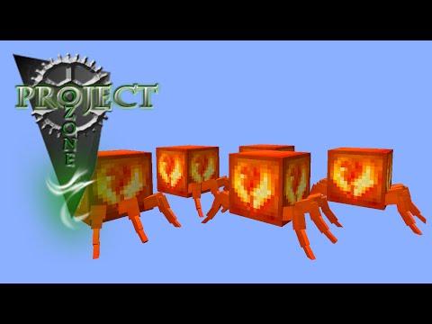 Minecraft Mods Project Ozone - ANIMATED AWAKENED DRACONIUM [E32] (Modded HQM Sky Block)