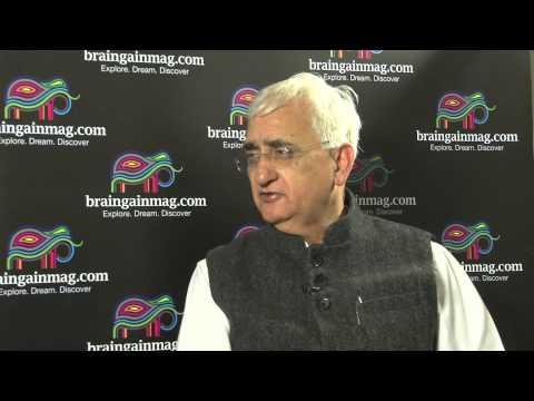 Salman Khurshid talks about an Oxford University Experience