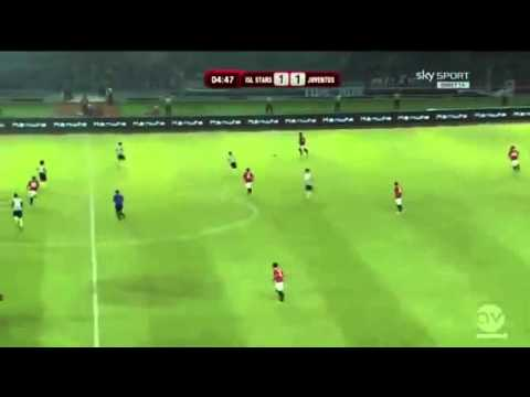 Andrea Pirlo Goal ~ Juventus vs Indonesia XI 1 8 ~ Friendly International 2014 FULL HD