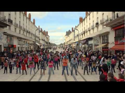 FlashMob Tours 23 mars Rue Nationale - 2013 - Official Vidéo
