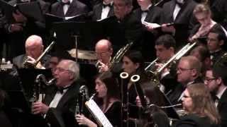 The New York Wind Symphony - Russian Christmas Music by Alfred Reed