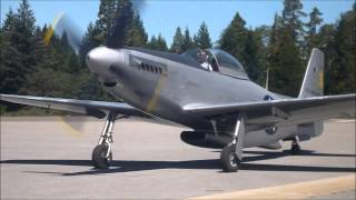 P-51H NEVADA COUNTY AIRFEST 2013