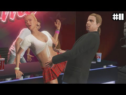 Gta 5 - Michaels Daughter Is A Slut  - (gta V Lets Play #11) video