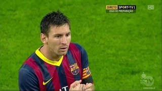 Lionel Messi vs Lechia Gdansk (30/7/2013)