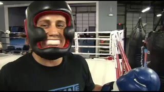 TBT Urijah Faber Ultimate Fitness Poppies Martinez, CHAMPIONS SPAR! an awesome inside look at MMA ..