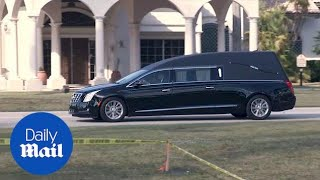 Funeral held for Florida school shooting victim Jaime Guttenberg - Daily Mail