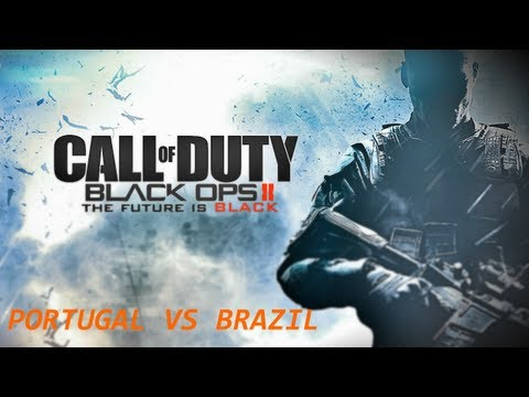 Gameplay Black Ops 2;gun Game Portugalvs Brasil 1vs1