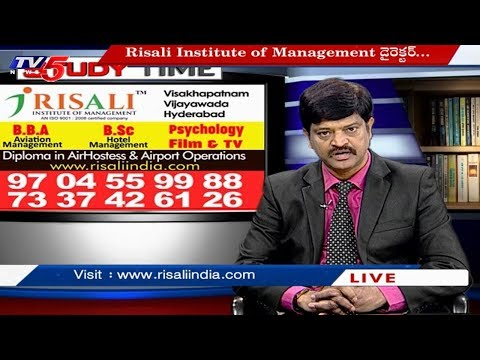 Risali Institute | Diploma in Air Hostess & Airport Operations | Study Time | TV5 News