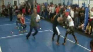 Richard from American Kickboxing Academy Sparring 11/7/09 Fight 2
