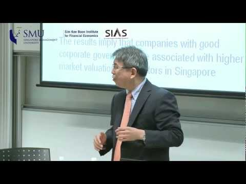 Corporate Governance and Valuation in Asia Part 3/3