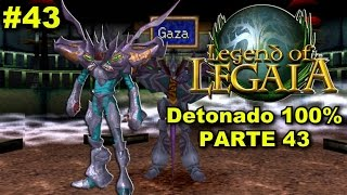 Detonado 100% de Legend of Legaia (PS1) - Parte 43 - Super Gaza - (Chefe - Round 2)