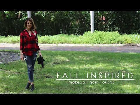 Fall Inspired Look: Makeup | Hair | Outfit