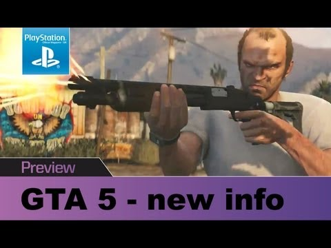 GTA 5 new info & screens – we've been to see it. Fresh gameplay details