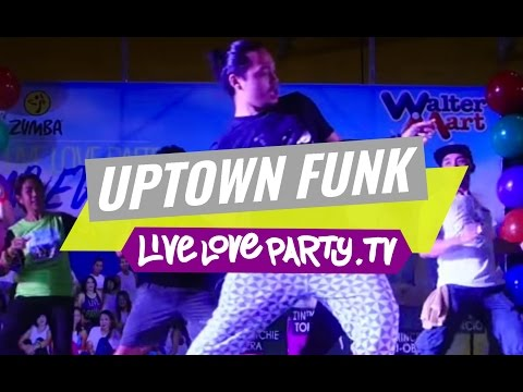 Uptown Funk | Zumba® Fitness With Zes Prince Paltu-ob | Live Love Party video