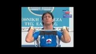 Georgi Markov 2003 European Weightlifting 77 Kg Glean and Jerk _202.5kg