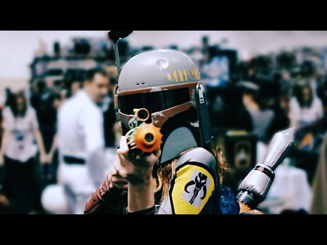 43 Boba Fetts In 90 Seconds - Star Wars Celebration