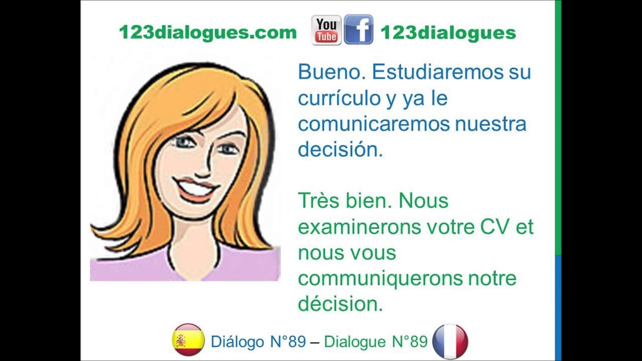 dialogue d entretien d embauche en francais pdf
