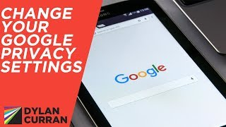 Stop Google from Collecting Your Information | Google Privacy Settings