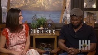 Was Trevante Rhodes Nervous About Kissing Sandra Bullock In 'Bird Box'?