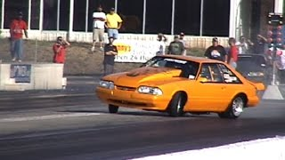 CRAZY Drag Racing SAVES and Near Misses