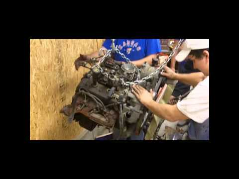Removing the GMC Jimmy Engine