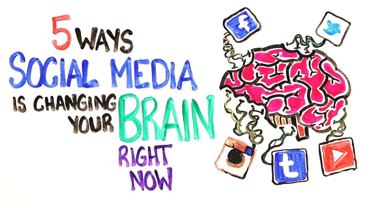 Crazy ways social media is changing your brain right now youtube