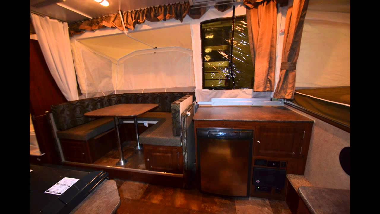 2013 Rockwood Hw 277 Pop Up Fold Down Travel Trailer