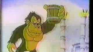 Donkey Kong Saturday morning cartoons 1984 part 1 of 2