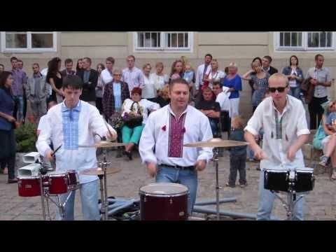 Drum Force №1 Барабанная музыка. Барабанщики (Уличные музыканты) #FolkRockVideo