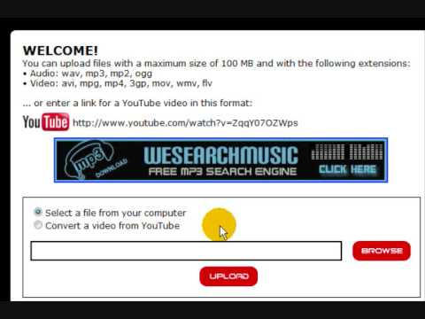 Free online video converter with YouTube Support