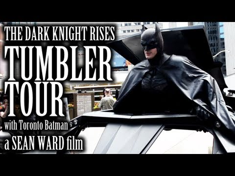 The Dark Knight Rises - Tumbler Tour with Toronto Batman