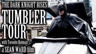 The Dark Knight Rises - Tumbler Tour