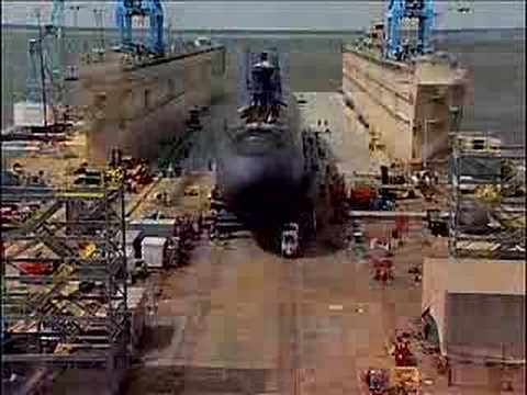 Floating Drydock in Action